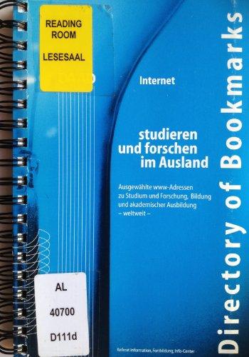 Directory of Bookmarks / Ausgewählte www-Adressen zu Studium und Forschung, Bildung und akademischer Ausbildung - weltweit