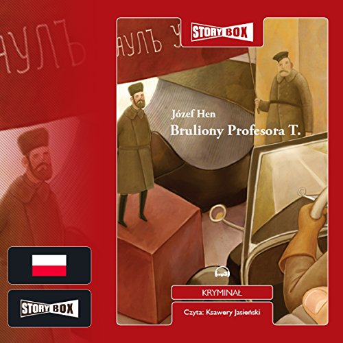 Bruliony Profesora T audiobook cover art