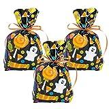 Elfen und Zwerge - Geschenktüte Halloween - Verpackung Geister - Partytüte Gespenst - Mitgebsel Süßigkeiten - 12 Stück