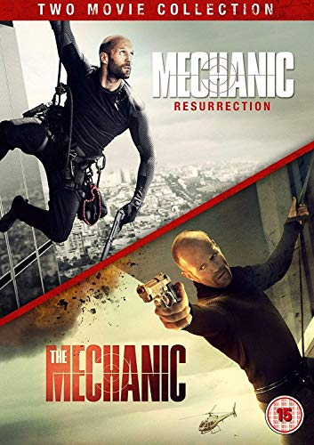 Mechanic Double Pack (The Mechanic/Mechanic: Resurrection) [DVD] [2016] UK-Import, Sprache-Englisch