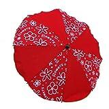 Sonnenschirm Schirm für Kinderwagen Ø68cm Rot Flowers #8