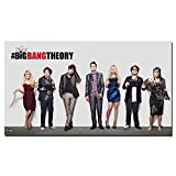 unknow The Big Bang Theory Movie, Poster Wand Leinwand
