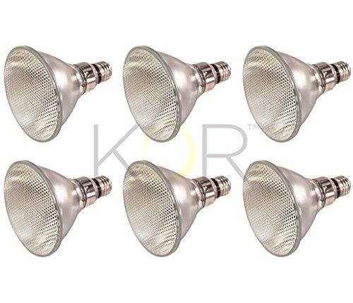 (Pack of 6) 70PAR38/FL 120V - 70 Watt High Output (90W Replacement) PAR38 Flood - 120 Volt - Halogen Light Bulbs
