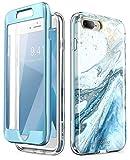 i-Blason Cosmo Glitter Clear Bumper Case for iPhone 8...