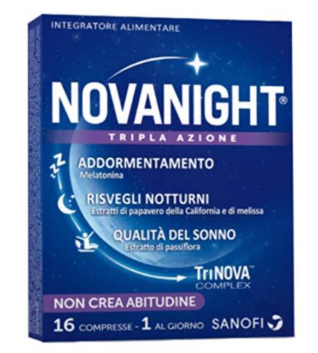 Novanight Tripla Azione Nuova Formulazione 16 Compresse (1 Al Giorno)