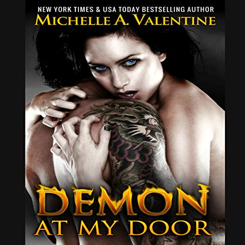 Demon at My Door audiobook cover art
