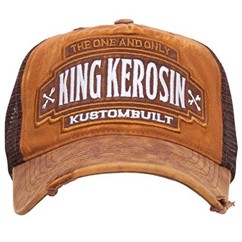King Kerosin Casquette Snapback Trucker Cap - Kustom Built