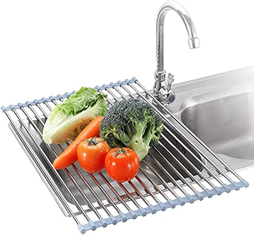 Roll Up Dish Drying Rack Over The Sink Dish...