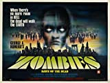 Dawn Of Dead Poster 04 Canvas A2 large 42x60cm Box Canvas