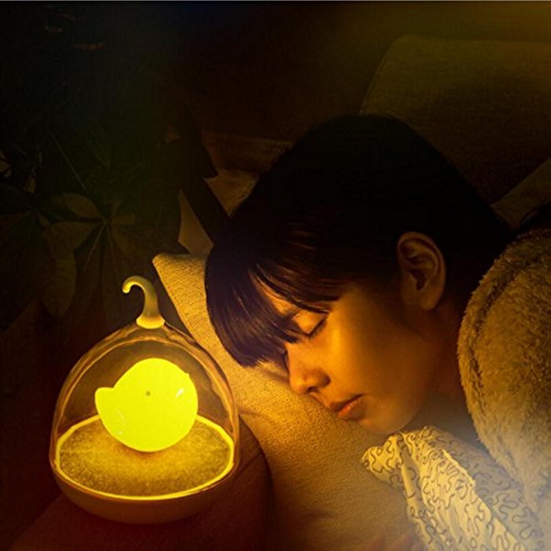 XDDCDL Tischlampe Kreative VogelkFig Lichter FüHrte Induktion Lade Schlaf Schlaf Baby Lampe Nachtlicht