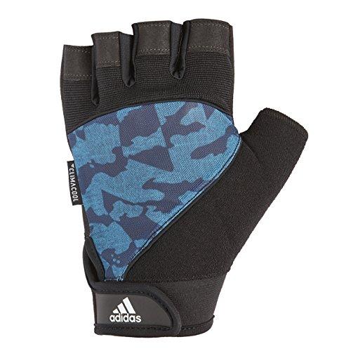Adidas Performance Gloves Unisex Handschuh, Blaucamo/Schwarz, L