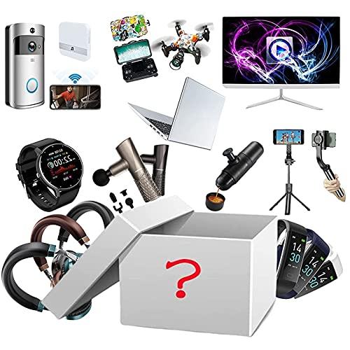 Lucky Mystery Box Elettronica Mystery Blind Box Beauty Surprise Box Compleanno Sorpresa Scatola Stile Casuale Esplora Regali Sconosciuti per I Tuoi Amici di Famiglia