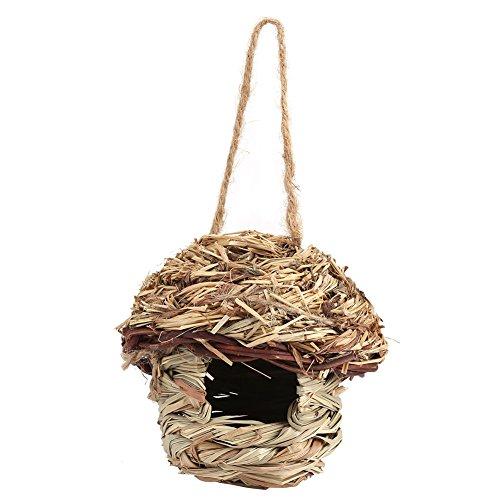 Nikou stro vogel nest vogelhuisje voor papegaai hamster kleine huisdieren dieren kooi huis opknoping Decor