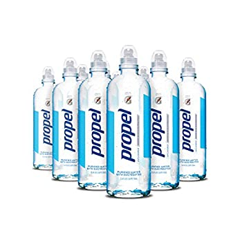 Propel Water Unflavored With Electrolytes and No Sugar 750 ml Bottles  Pack of 12