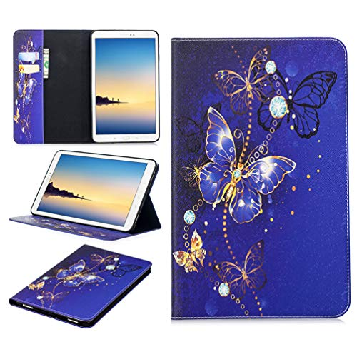 Tablet Case for Samsung Galaxy Tab A 10.1 2016 - Premium Leather Folio Case Cover for Samsung Galaxy Tab A 10.1( 2016 ) with Card Slots