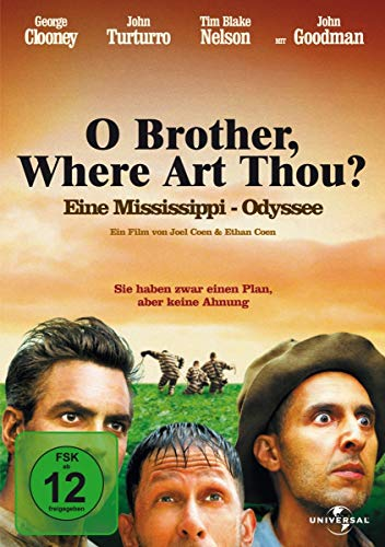 O Brother, Where Art Thou? - Eine Mississippi-Odyssee [Alemania] [DVD]