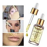 24K Gold Essence Serum Face Pre-Makeup Primer Moisturizing Anti Wrinkle Shrinking Pores Makeup Base Foundation Primers