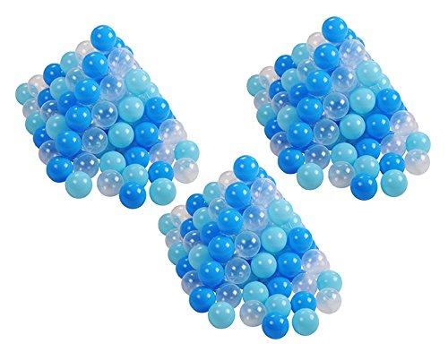 Knorrtoys 56773 - Bälleset Ø ca. 6 cm - 300 Balls/Soft Blue/Blue/White