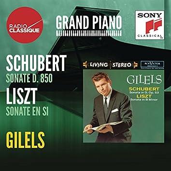 """Schubert: Piano Sonata No. 17 in D Major, Op. 53, D. 850 """"Gasteiner"""" - Liszt: Piano Sonata in B Minor, S. 178"""