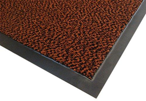 3m - Alfombra 21988 asciugapassi, polipropileno tejido, el apoyo de vinilo, el espesor total de 7 mm, de color marrón