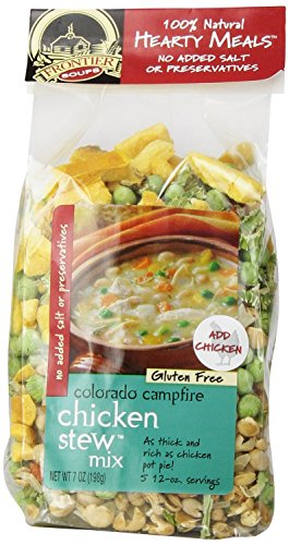 Frontier Soups Hearty Meals Colorado Campfire Chicken Stew Mix, 7 Ounce (4 Pack)