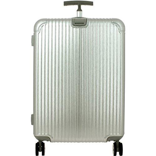 Valise Rigide David Jones Taille G 78cm TSA - 4 roulettes - Serrure TSA - Poignée télescopique - Fermeture éclair