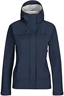 [マムート] 防水ジャケット マイクロレイヤー HS Hooded Jacket AF Women 1010-28660 5118 marine S(EU-XS)