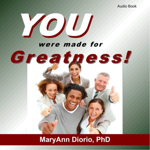 You Were Made for Greatness! audiobook cover art