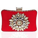 Bolso De Las Mujeres Diamante Bolso De Noche Clutch Bag Billetera Embrague Bolsos De Mano