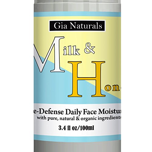 Pure, Natural, and Organic MILK AND HONEY AGE-DEFENSE DAILY FACE MOISTURIZER Lotion For Normal to Dry Skin. Hydrate, fight wrinkles and lines! Great for sensitive skin!