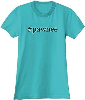 #Pawnee - A Soft & Comfortable Hashtag Women's Junior Cut T-Shirt