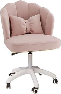 YERT Chaise de Bureau Confortable, Fleur de Lotus rembourrée, Fauteuil d'appoint en Velours, Tabouret de Travail pivotant ...