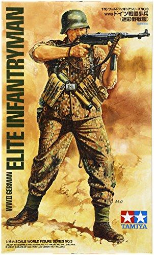 TAMIYA 300036303 - 1:16 WWII Figur Deutsche Infanterie Soldat