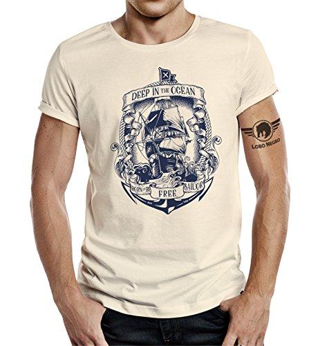 Maritimes T-Shirt: Deep in The Ocean-XXL