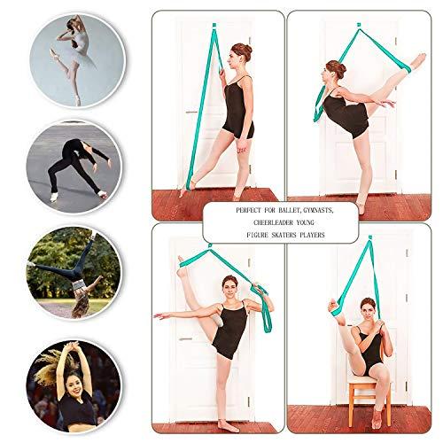 Product Image 6: JOYHILL Adjustable Leg Stretcher, Door Flexibility Stretching Leg Strap,Great for Ballet Cheer Dance Gymnastics or Any Sport Leg Stretcher Door Flexibility Trainer Premium Stretching Equipment