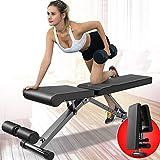 Tragbare Hantel Hocker Bodybuilding Sit-Up Bank Multifunktionale Sit-Ups Bank Haushalt Fitness Stuhl...