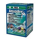 JBL Mineral de Sal de purificador de Agua para acuarios de Agua Dulce, AQUADUR