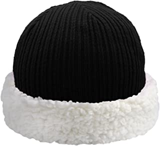 Pudus Corduroy Adult one Size Cozy Winter hat with Sherpa Lining
