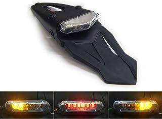 Motorrad LED Ampel Rücklicht mit Blinker Homologated für Hinteres Schutzblech