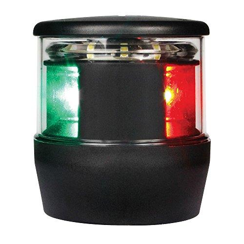 '0650 Series' NaviLED Trio Multivolt Red/Green/White 8-28V DC Tri-Color LED Navigation/Anchor Light with Black Housing - HELLA 980650001