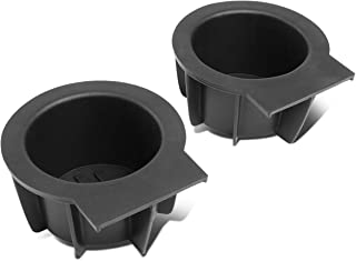 DNA Motoring ZTL-Y-0046 Front Center Floor Console Cup Holder Inserts Replacement