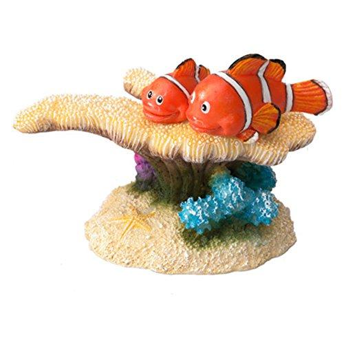 Aqua Della Poisson Clown Décoration d'aquarium, 17,8 cm, 6 x 3.5 x 5 cm