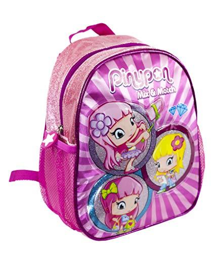 Pinypon - Mochila para guardería Infantil para niños a Partir de 2 años, Color Rosa (Famosa 700016008)