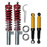 1 x Kit suspensions sport schraubfahrwerk tieferlegungssatz organes de descente