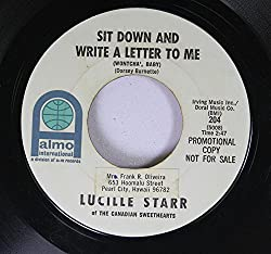 Once A Day / Here Come More Roses - Lucille Starr 7