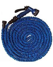خرطوم الماء المتمدد المرن طول يصل الى 45متر ازرق