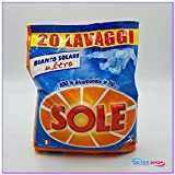 Solar lavadora 20 Mis blanco solar