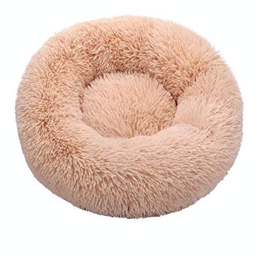 Rund Drachen weiche Plüschkatze-Bett-Haus bestes Hundebett zooplus Hundekorb Katze Bett Kissen Kissen Tier Katze schläft auf dem Sofa,12,40cm