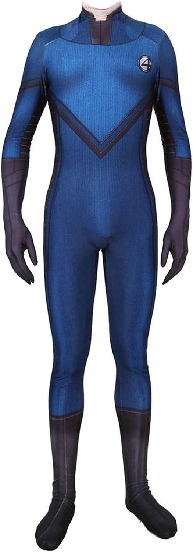 mejor opcion QQWE Fantastic Four Fancy Fancy Fancy Dress Costume Marvel Película CosJugar Disfraz Película Juego de rol Ropa Traje Spandex Monos,A-XXXL  diseño único