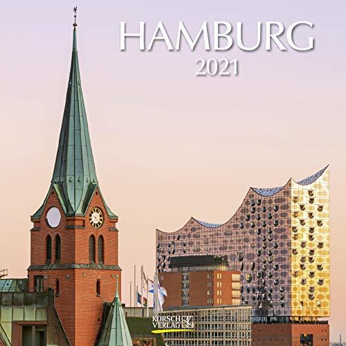 Hamburg 2021: Broschürenkalender mit Ferienterminen